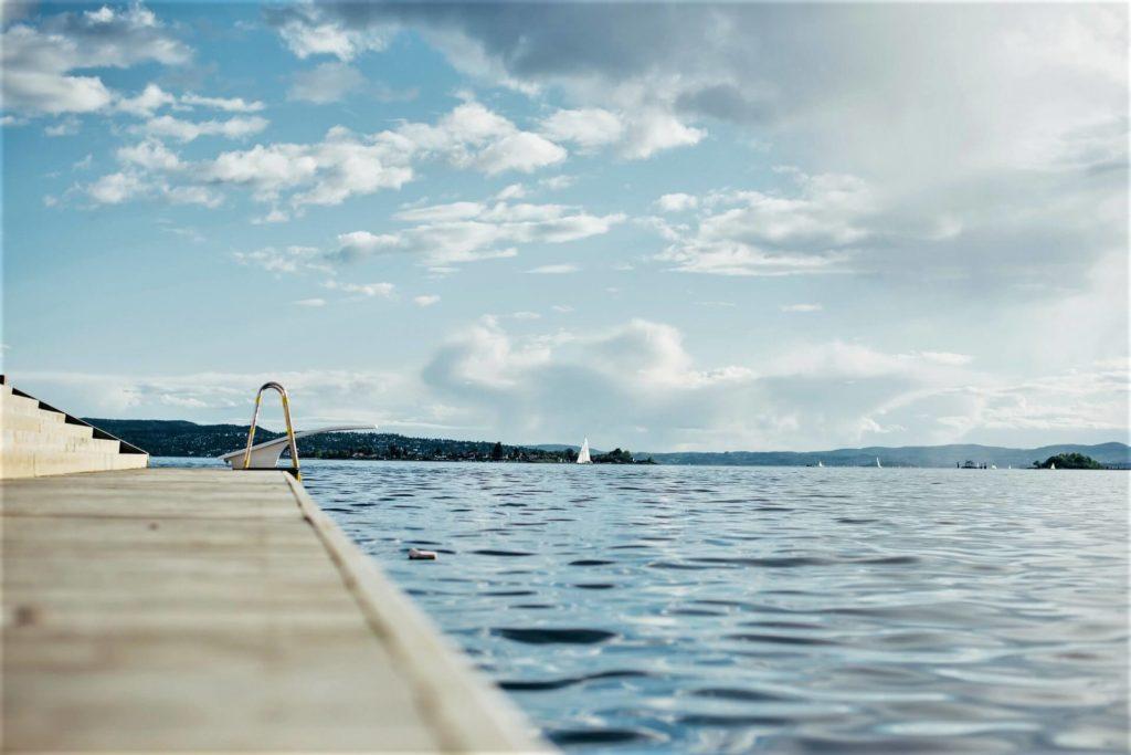 yüzme görseli