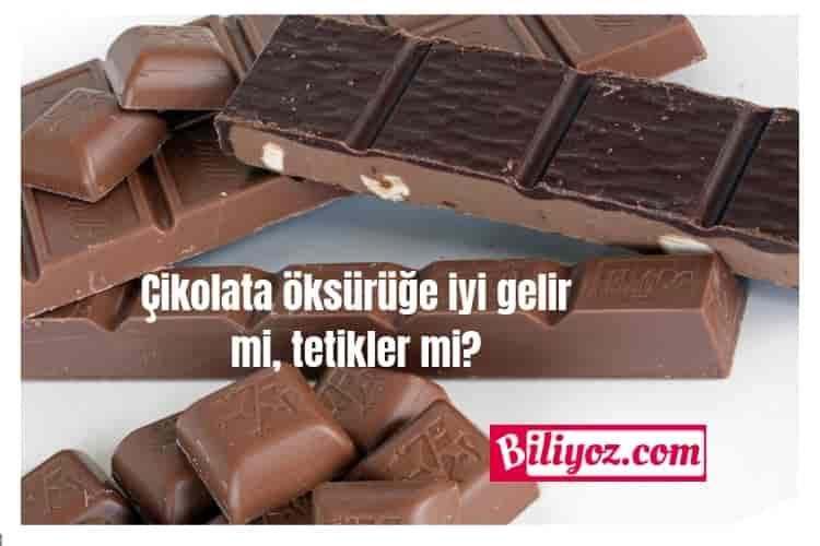 Çikolata öksürüğe iyi gelir mi