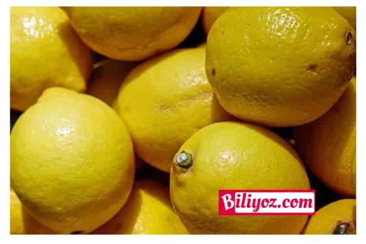 tırnak mantarı limon